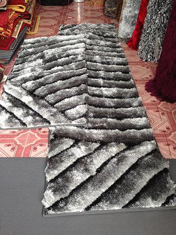 Thảm lông dài trải ghế TG004