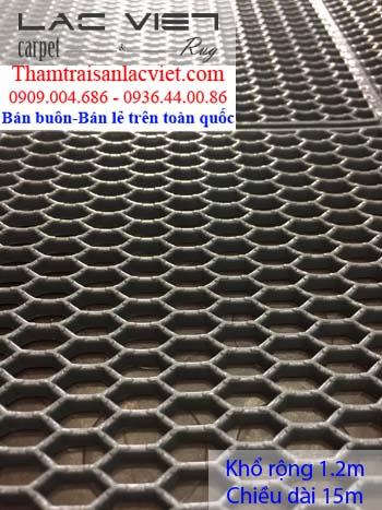 Nhựa lưới tổ ong màu ghi LVT423
