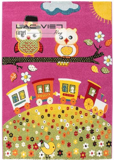 Thảm phòng trẻ em 315 Pink