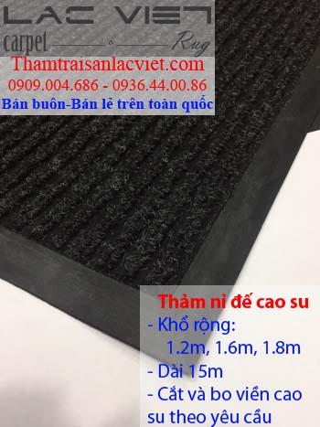 Vì sao nên dùng thảm chùi chân nhựa rối