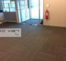 Thảm trải sàn cách âm cho văn phòng, thảm lót sàn tiêu âm tốt