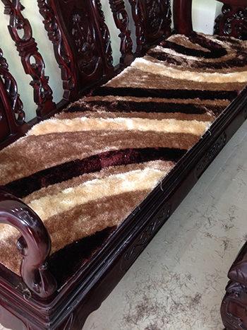 Thảm lông dài trải ghế TG003