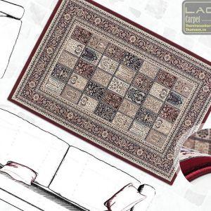 Thảm trang trí lalee MAS 132 red
