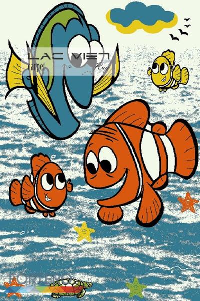 Thảm trang trí đẹp 319 Fish