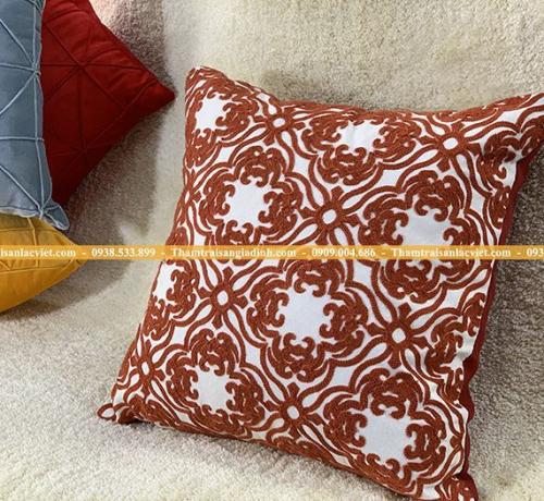 5 mẫu gối ôm ghế sofa màu đỏ cho Tết may mắn