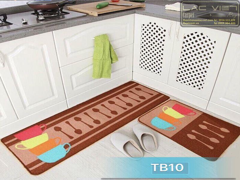 Thảm trải sàn nhà bếp thìa cốc TB010