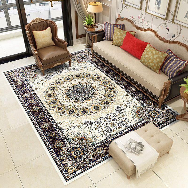 3 cách chọn mua thảm trang trí phòng khách theo thiết kế