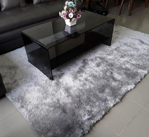 3 lý do nên chọn mua thảm trải sàn phòng khách màu xám