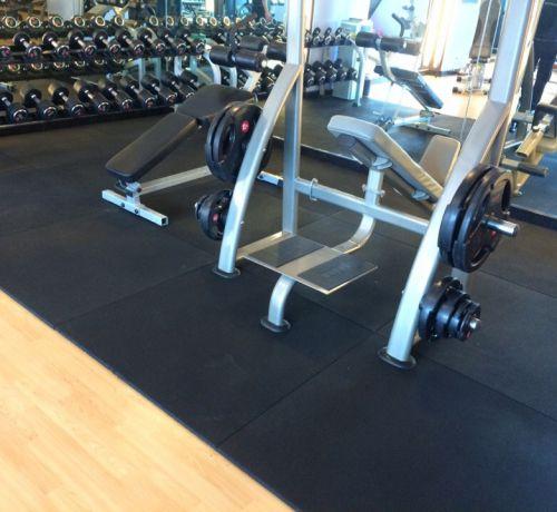 Đặc điểm cần biết của tấm cao su chống trượt phòng gym