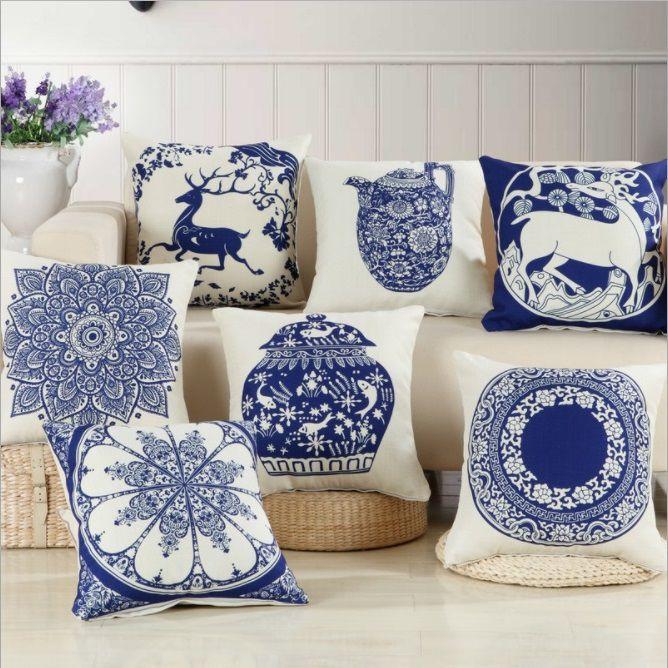 Lưu ý khi chọn lựa gối trang trí sofa giá rẻ cho phòng khách