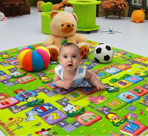 Mẹo nhỏ giúp mẹ chọn miếng lót sàn cho em bé chất lượng