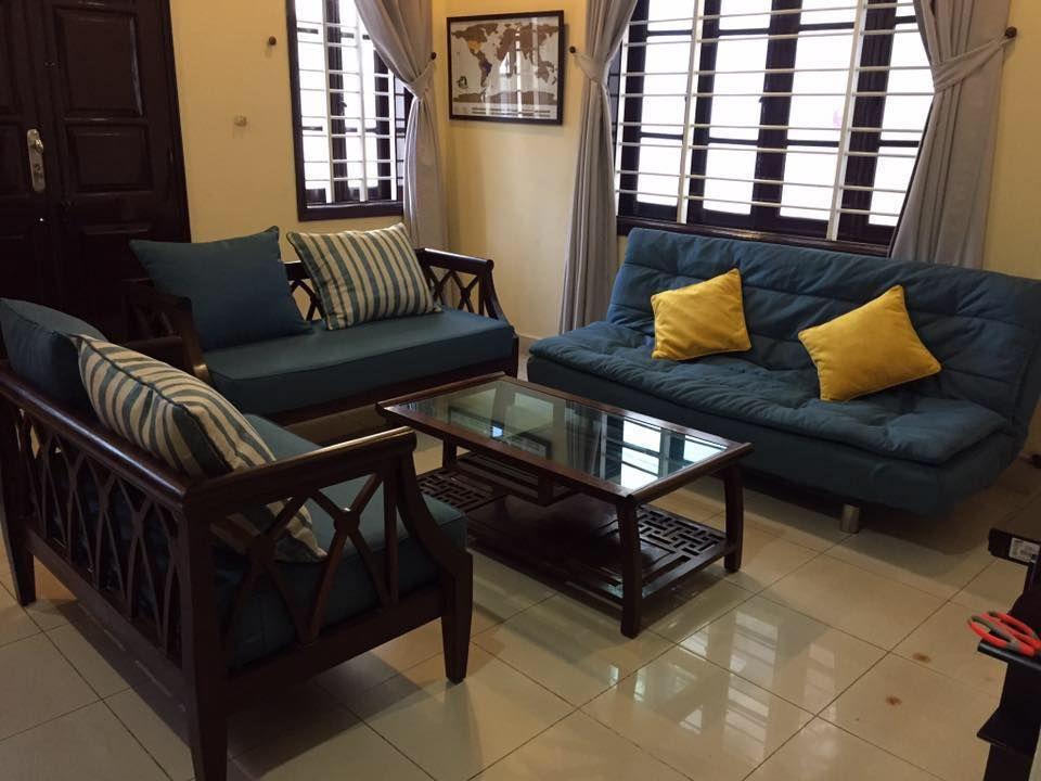 2 lựa chọn – 2 phong cách với thảm trải ghế phòng khách