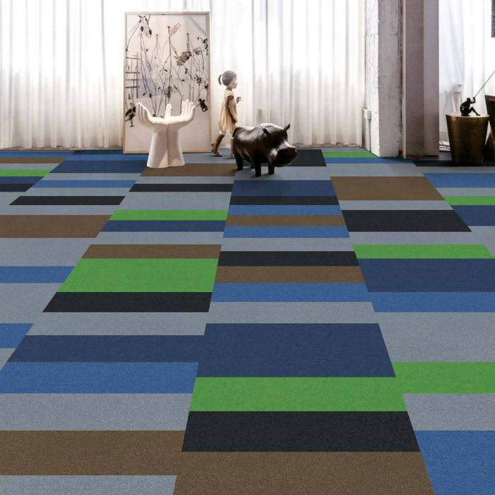 3 chất liệu thảm trải sàn trang trí phòng khách nhân tạo nên dùng