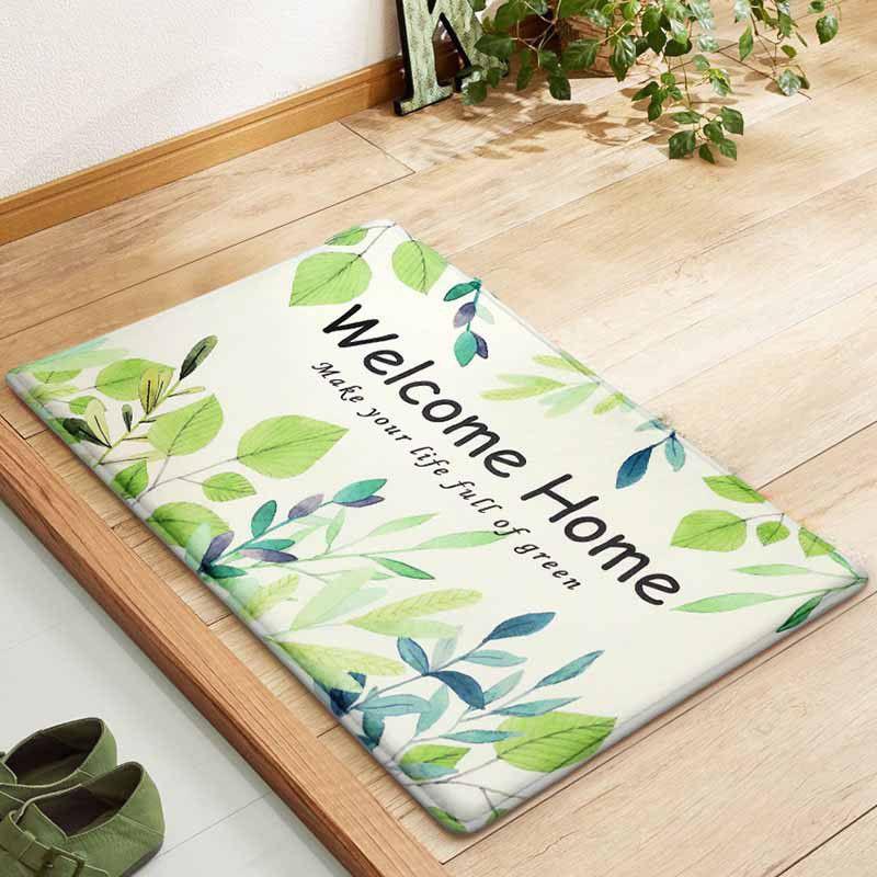 3 lý do nên chọn thảm chùi chân welcome đẹp cho gia đình