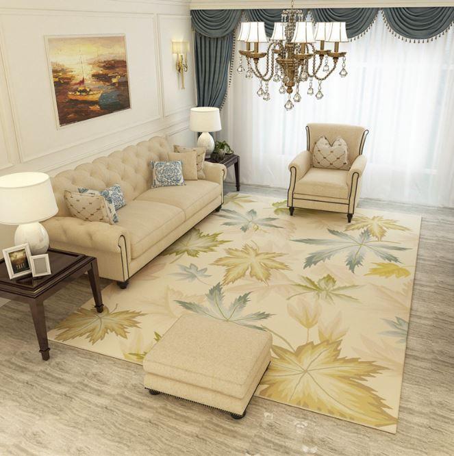 4 phong cách cho tấm thảm trải sàn phòng khách hợp mọi gia đình