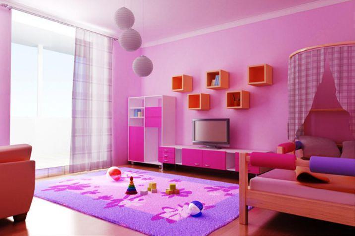 5 cách phối màu cho thảm trải sàn trong phòng ngủ và sơn tường