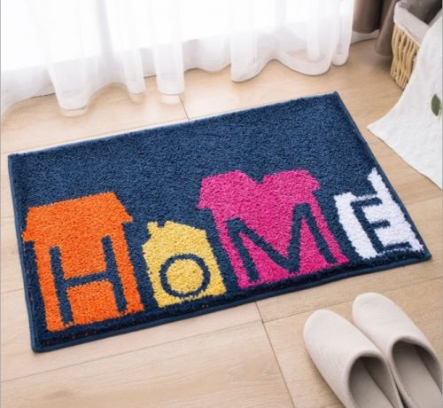 Khám phá những mẫu thảm chùi chân dễ thương cho gia đình