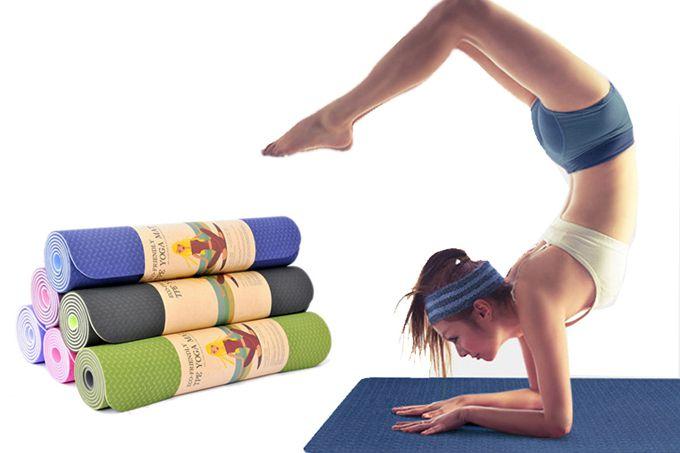 Mẹo nhỏ giúp chọn thảm tập yoga chống trượt chuẩn
