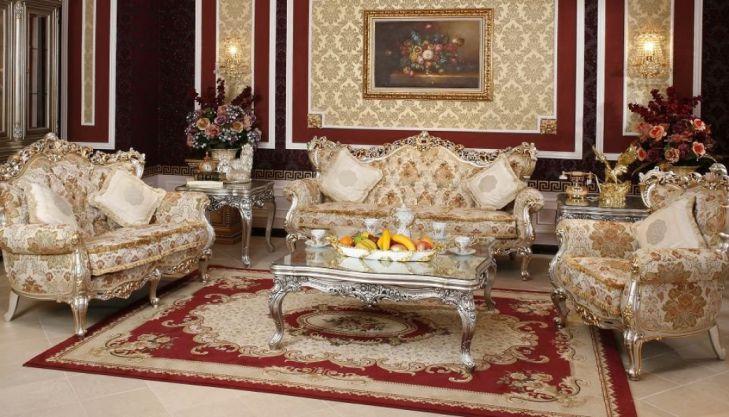 Phong cách cổ điển nhờ trang trí với thảm phòng khách đẹp