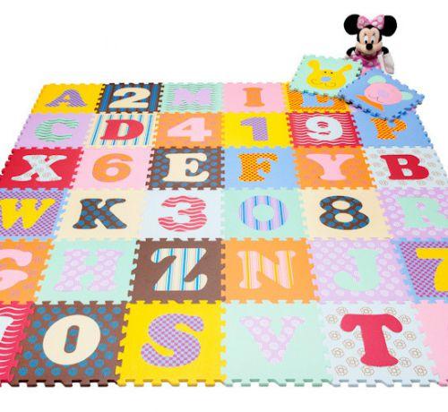 Tăng khả năng tư duy cho con nhờ thảm trải sàn cho trẻ em
