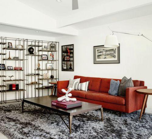 Thảm trải sàn nhà phòng khách lông dài – Cách đơn giản giữ ấm mùa đông