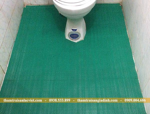Thảm Nhựa Lưới Zic Zac chống trơn nhà tắm