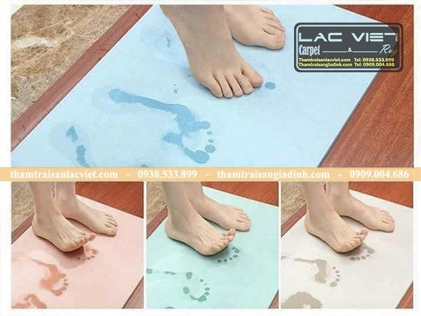 Thảm chùi chân đá siêu thấm nước