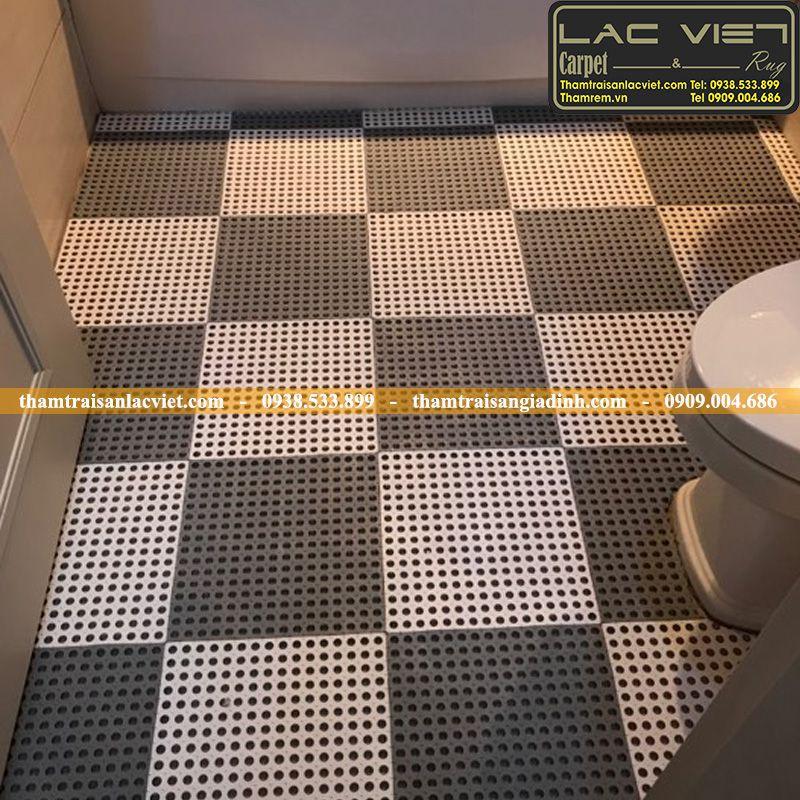 Thảm chống trơn trượt nhà tắm – Giải pháp thông minh cho gia đình