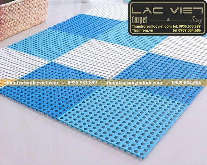 Thảm nhựa ghép chống trơn cao cấp