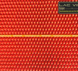 Thảm Nhựa Gai Mít Màu Đỏ