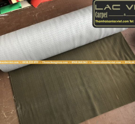 Thảm Nhựa Gai Sầu Riêng Màu Ghi