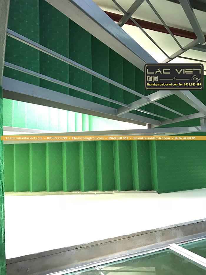 Thảm Chống Trơn Cầu Thang Màu  Xanh Lá LV631