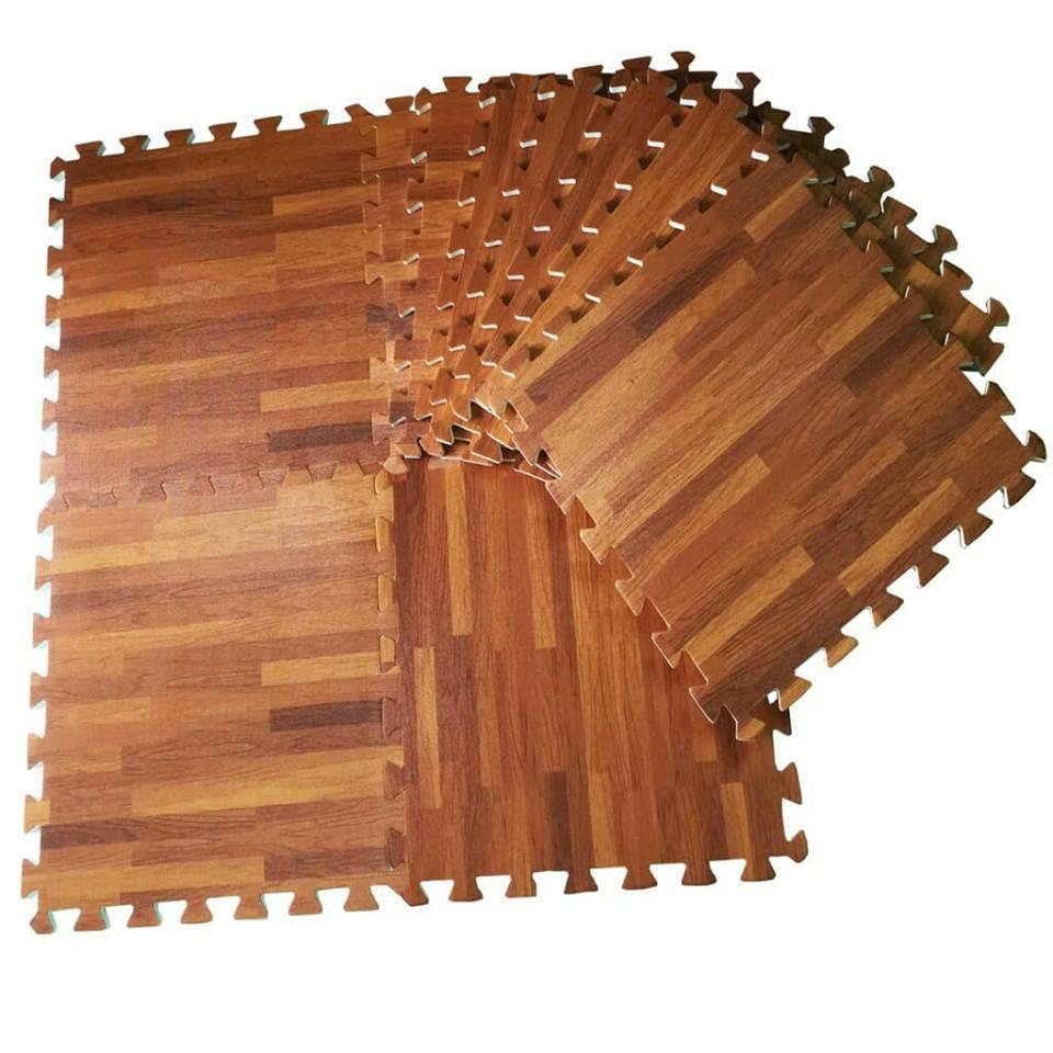 Nâng tầm thiết kế công trình cùng thảm xốp giả gỗ