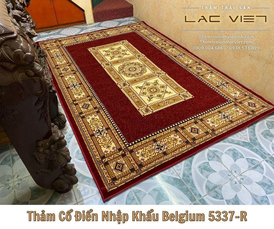 Thảm Cổ Điển Nhập Khẩu Belgium 5337-R