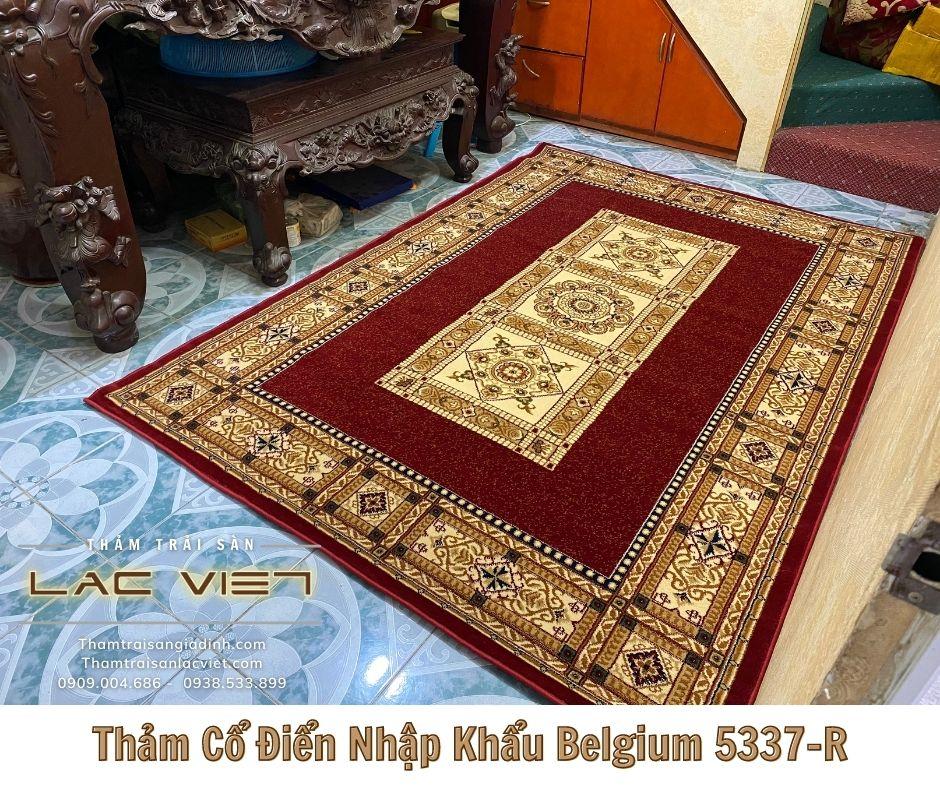 Thảm Cổ Điển Nhập Khẩu Belgium 5337-R (3)