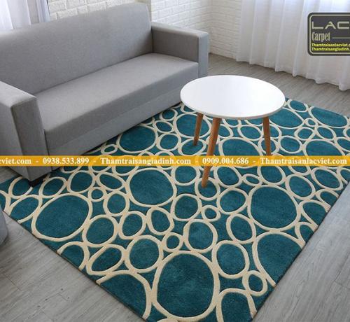 Tổng hợp các loại thảm lót phòng khách giá rẻ