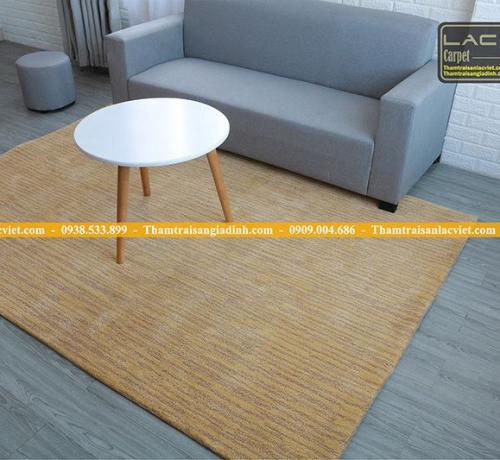 Các chất liệu phổ biến thảm trang trí nhà