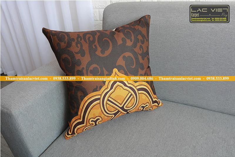 Gối tựa sofa trang trí hoàng gia 052