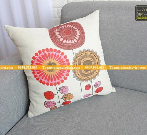 5 mẫu gối tựa sofa giá rẻ màu trắng độc đáo