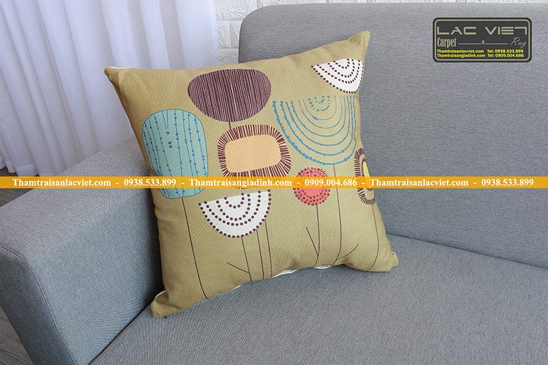 Gối tựa lưng trang trí sofa 065