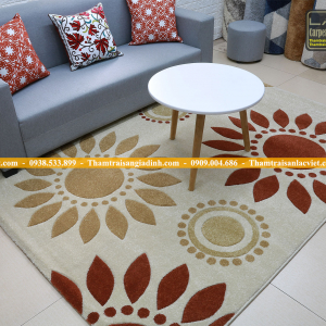 Thảm phòng khách giá rẻ-LV615