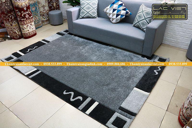 Thảm trang trí phòng khách -HAV-401-silver