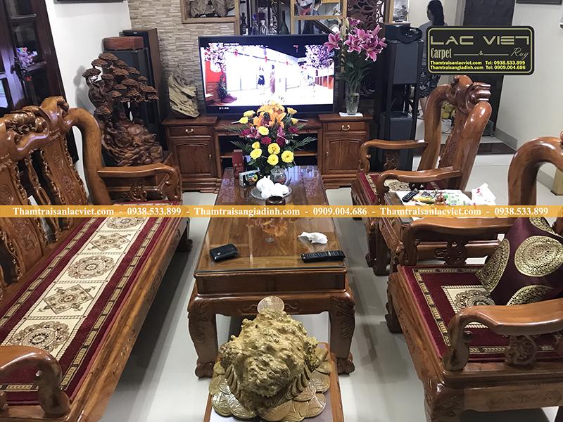 Bộ Thảm Trải Ghế Đồng Kỵ Tay 10 5326R