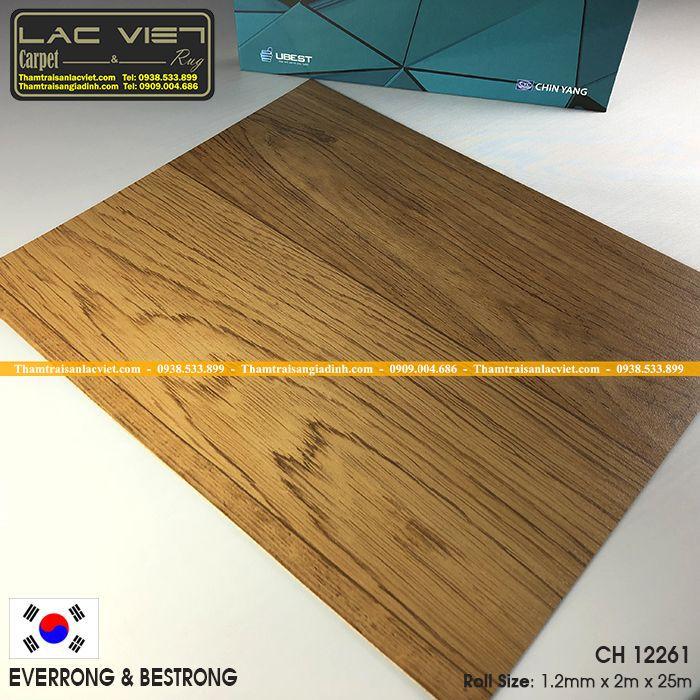 Thảm Nhựa Trải Sàn Sàn Dạng Cuộn Vinyl CH12261